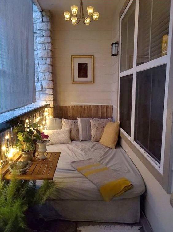 Спальня в лоджии