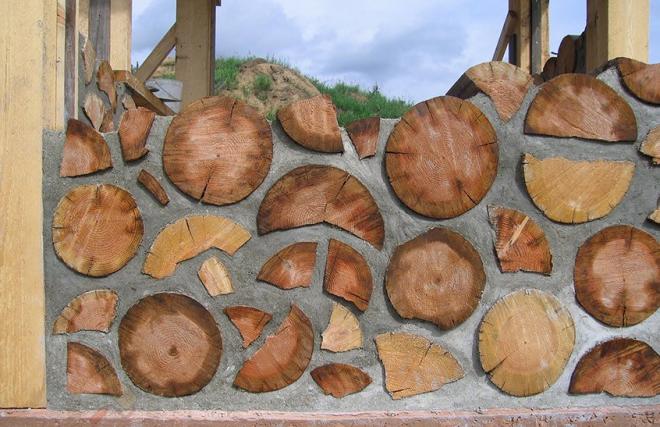Вариант укладки дров