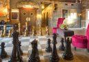 Шахматы в интерьере – несколько идей шахматного декора