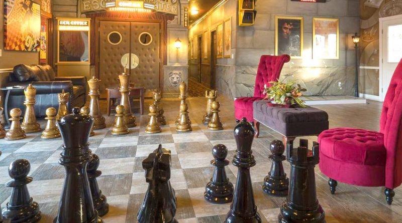 Шахматы в интерьере - несколько идей шахматного декора