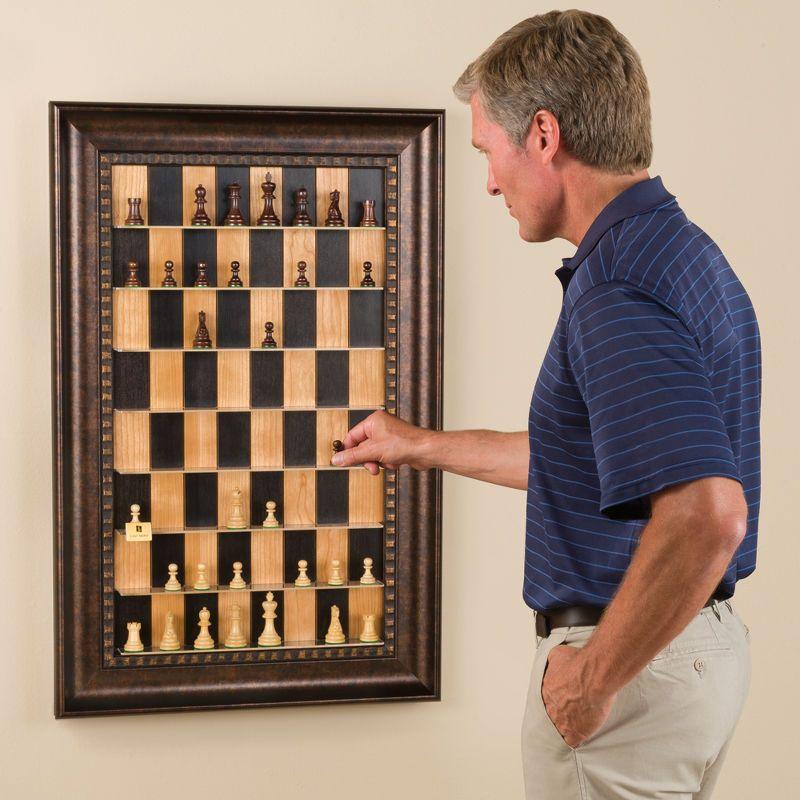 Настенная картина с подвижными шахматами